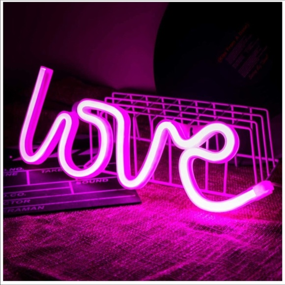 Pink Neon LED Love Light Sign